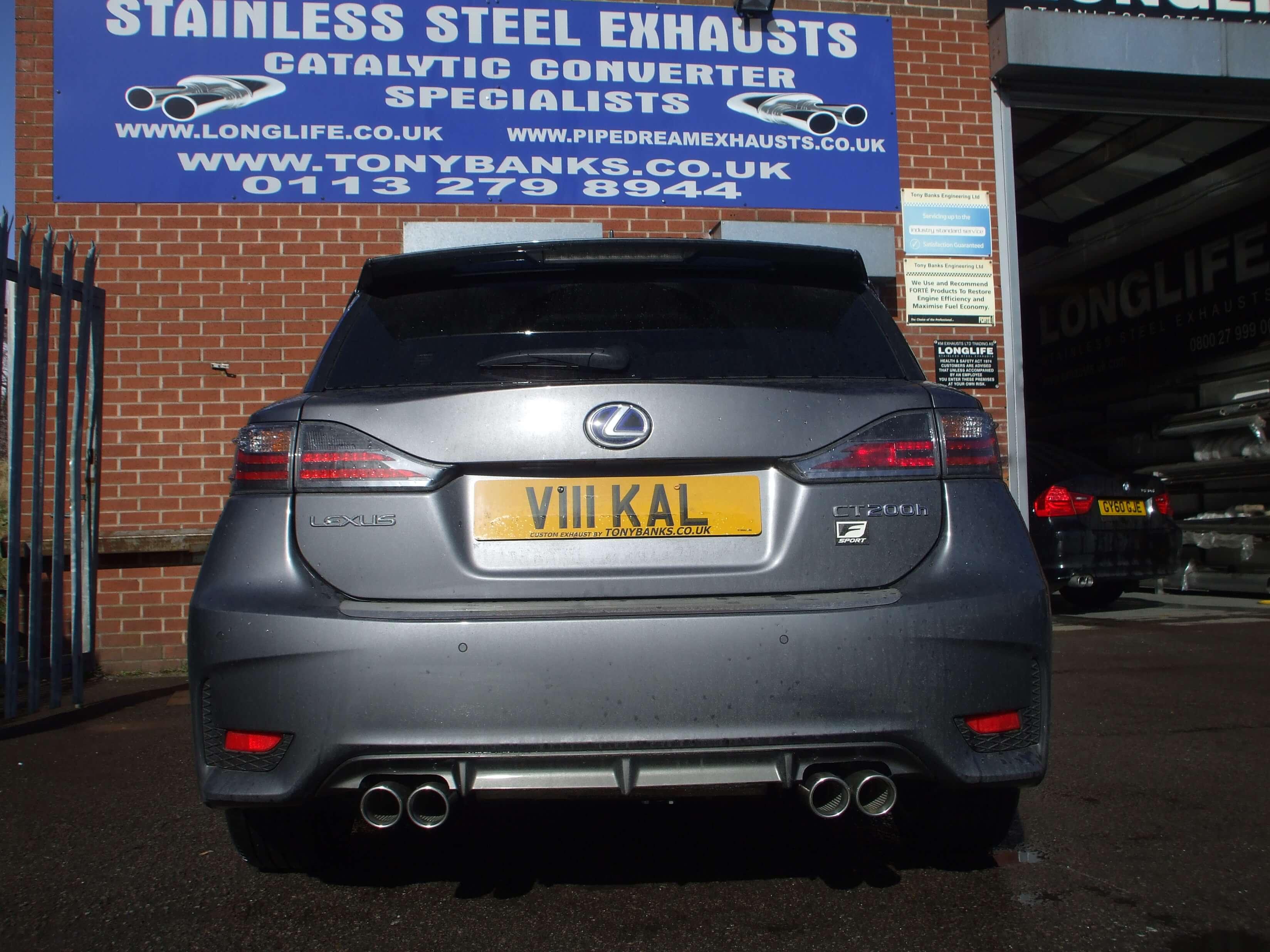 Gallery - Tony Banks Exhausts Leeds